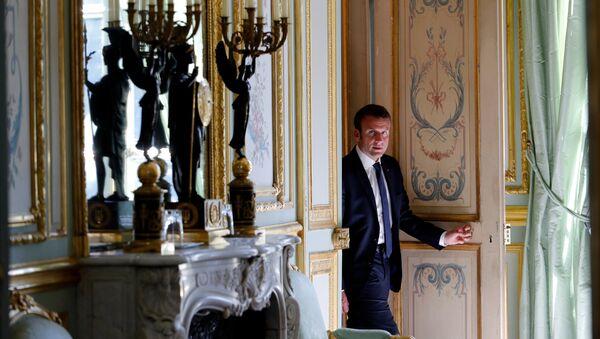 Emmanuel Macron, presidente de Francia - Sputnik France