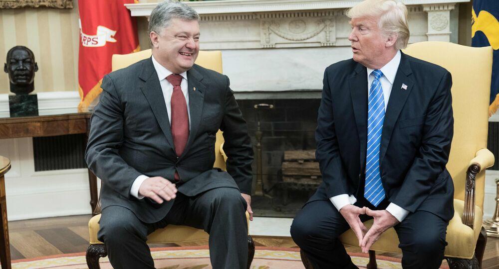 Porochenko: les USA seront plus actifs dans le règlement du conflit dans le Donbass