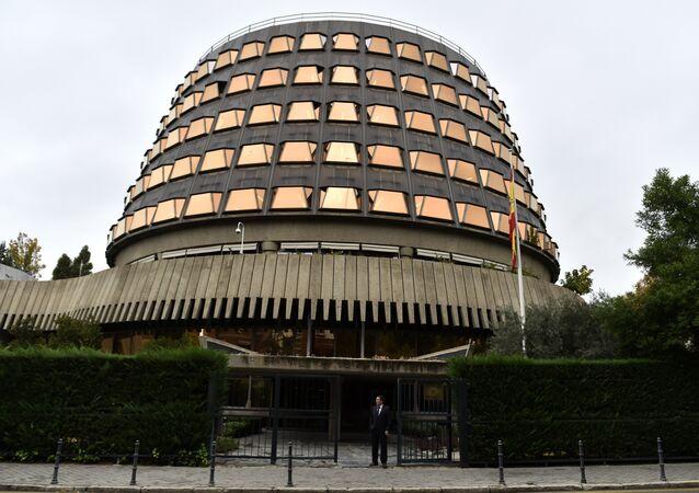 La Cour constitutionnelle espagnole