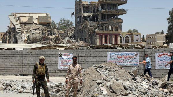 Les militaires irakiens à Mossoul - Sputnik France
