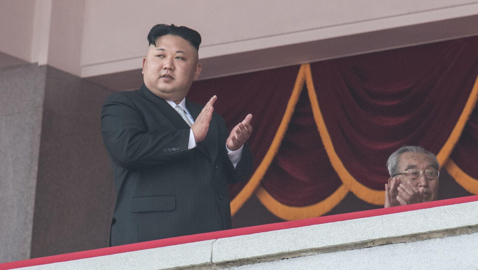 Kim Jong-un, leader  de la Corée du Nord - Sputnik France, 1920, 13.09.2021