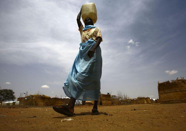 Réfugié du Soudan du Sud dans un camp