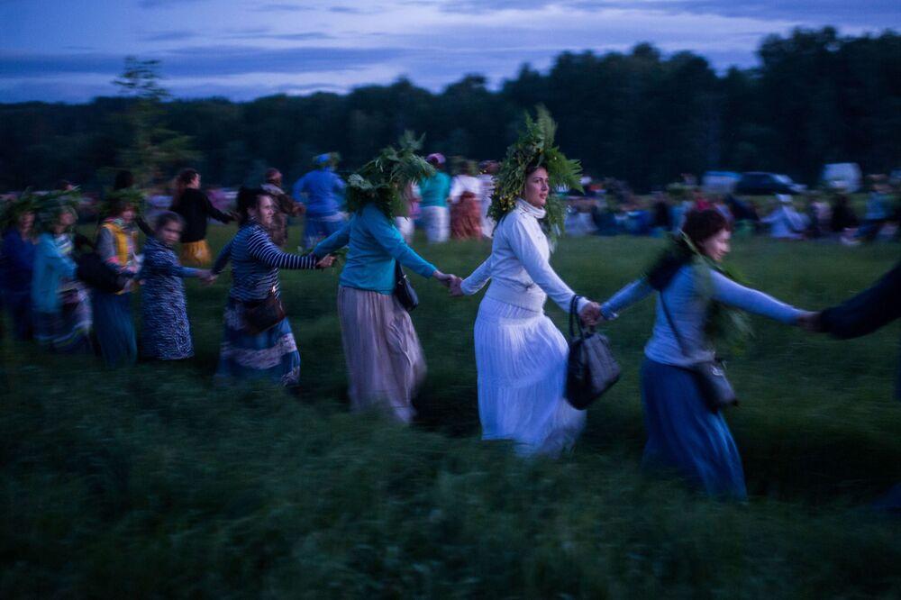 La fête du solstice d'été dans la région d'Omsk