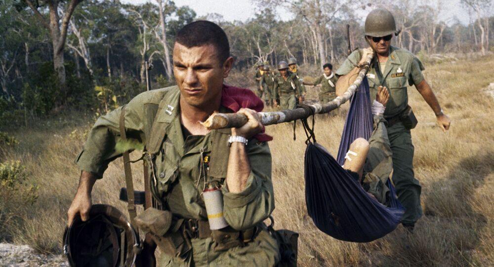 Des soldats américains au Vietnam