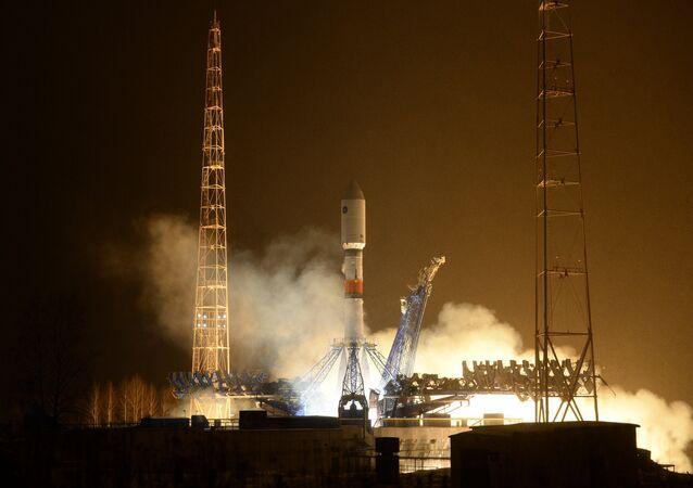 Lancement d'une fusée Soyouz-2.1b depuis Plessetsk