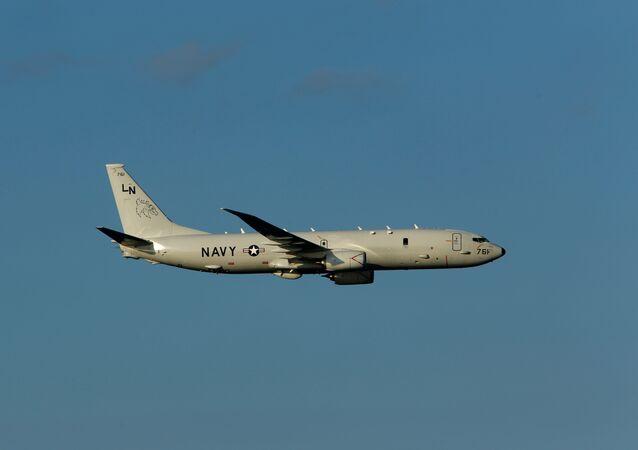 Un avion P-8A Poseidon