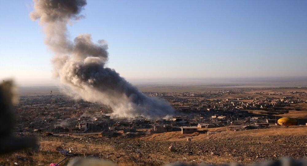 Le district de Sinjar, dans le nord de l'Irak (archive photo)