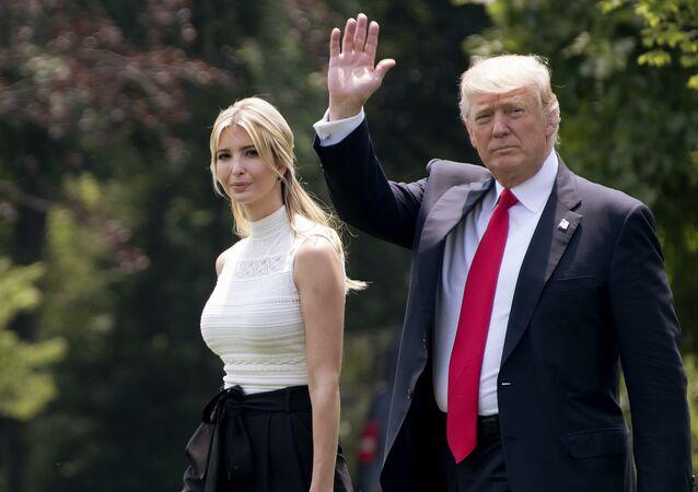 Ivanka Trump et Donald Trump