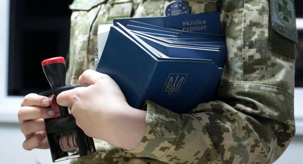 Passeports ukrainiens