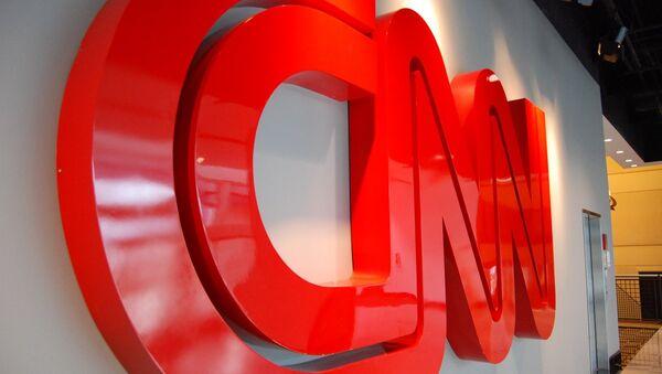 Logo de la cadena CNN - Sputnik France