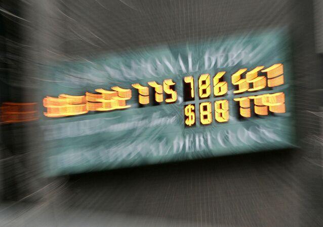 Compteur new-yorkais de la dette publique américaine