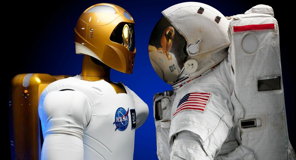 Le robot androïde martien Valkyrie démontre ses nouvelles aptitudes