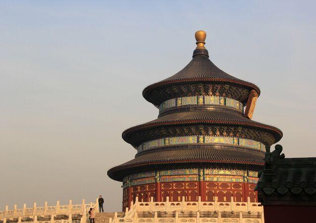 Le Temple du Ciel à Pékin