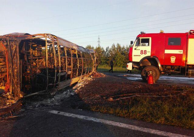accident de la route au Tatarstan
