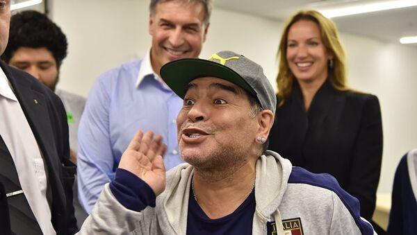 Diego Maradona à Moscou - Sputnik France