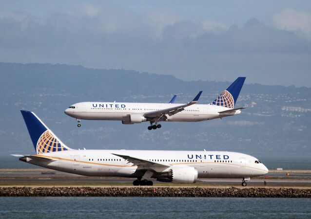 Des avions d'United Airlines