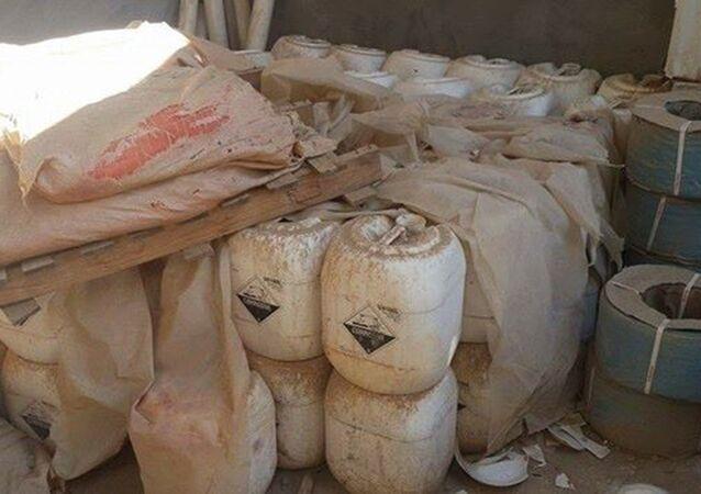 Mossoul: la police découvre un énorme lot d'explosifs