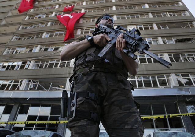 Forces de police turques