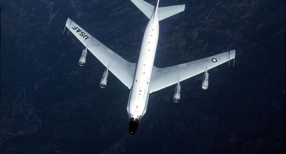 Un avion de reconnaissance RC-135 (archive photo)