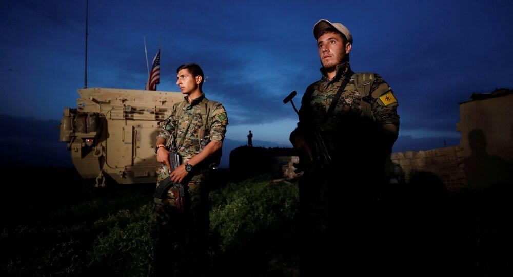 Soldats de l'YPG