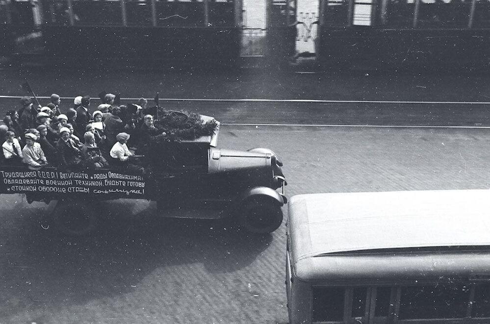 De Leningrad à Berlin : photos uniques des deux villes à la veille de la guerre