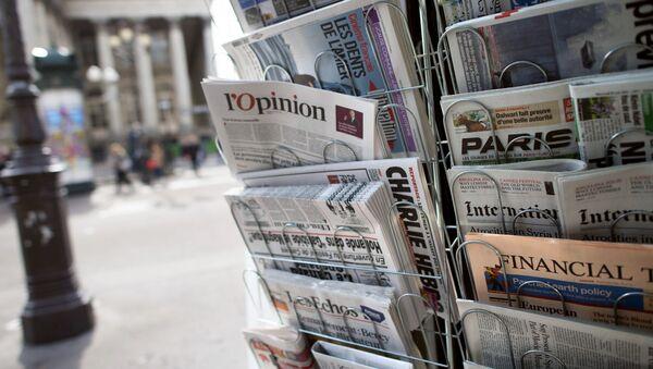 Presse écrite française - Sputnik France