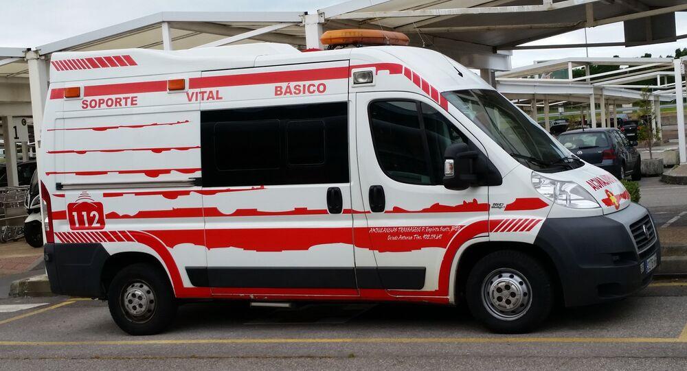 Ambulance espagnole