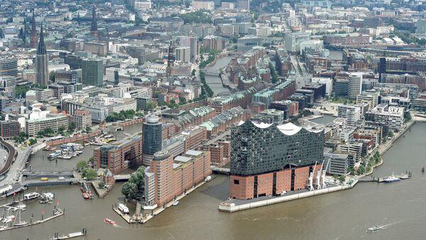 Vista aérea de Hamburgo, Alemania - Sputnik France
