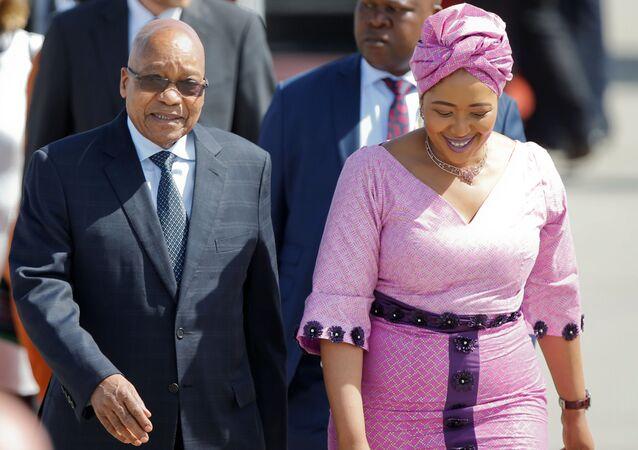 Jacob Zuma et son épouse