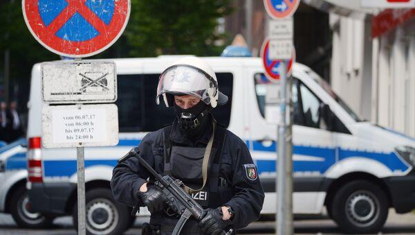 Акции протеста в Гамбурге - Sputnik France
