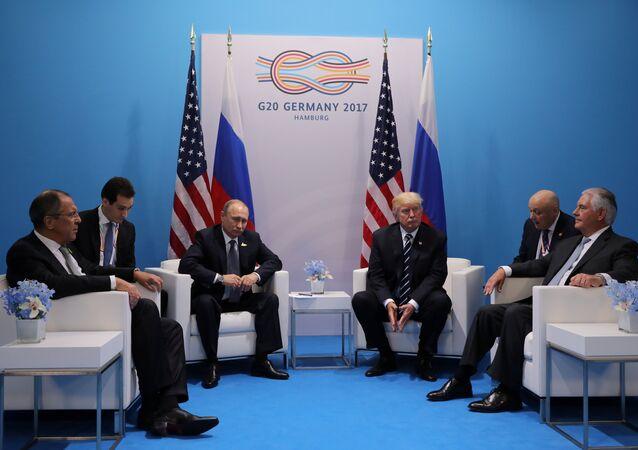 Vladimir Poutine et Donald Trump