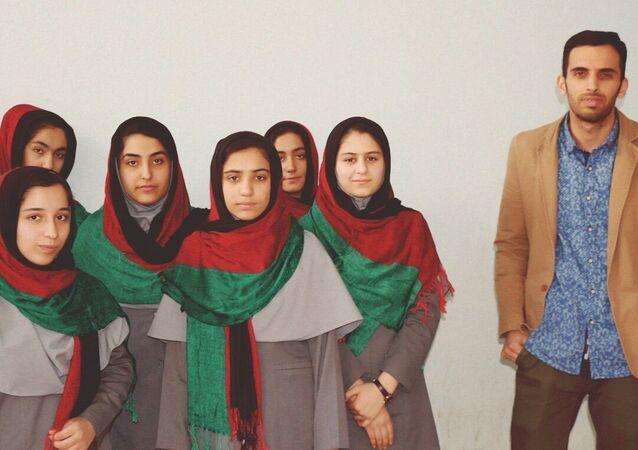 L'équipe de lycéennes afghanes iinvitée au concours FIRST Global Challenge aux USA