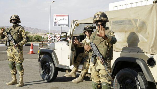 Ägyptische Soldaten auf Sinai - Sputnik France