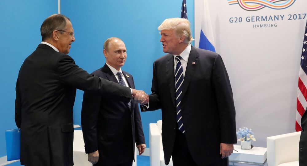 rencontre Poutine-Trump