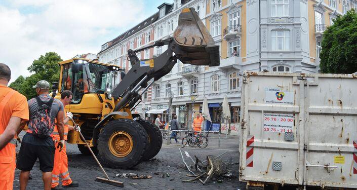 Au lendemain des violents heurts entre les opposants au G20 et les forces de l'ordre à Hambourg