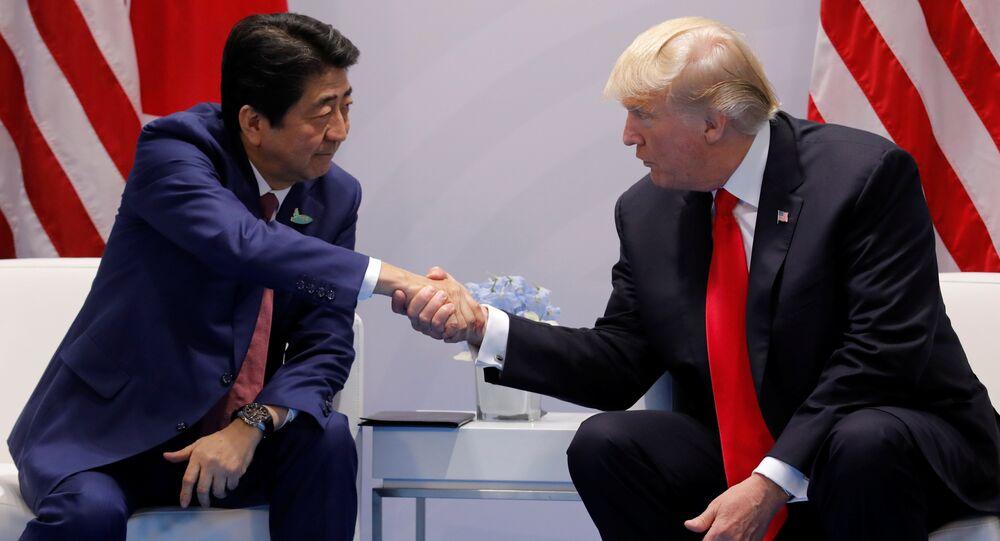 Trump et Abe prônent une réponse «rapide et décisive» aux actions de Pyongyang