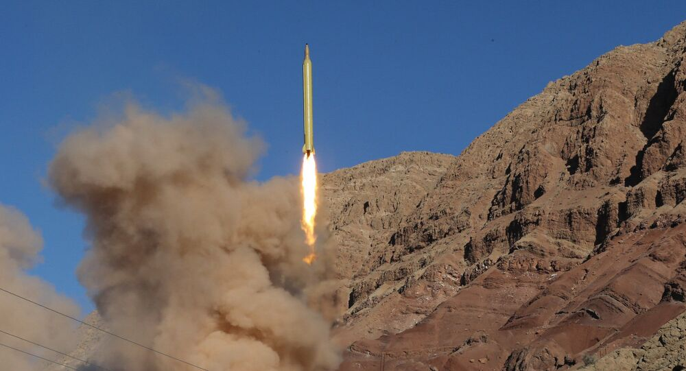 Test de missile, image d'illustration