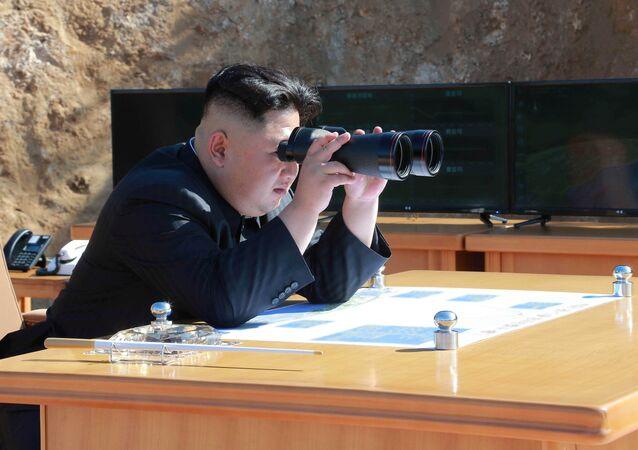 Kim Jong-un, leader de la Corée du Nord