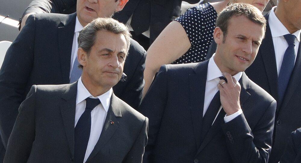 Nicolas Sarkozy et Emmanuel Macron