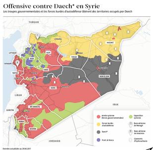 Offensive contre Daech en Syrie