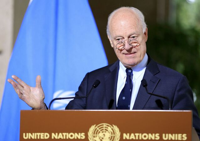 Staffan de Mistura (photo d'archives)
