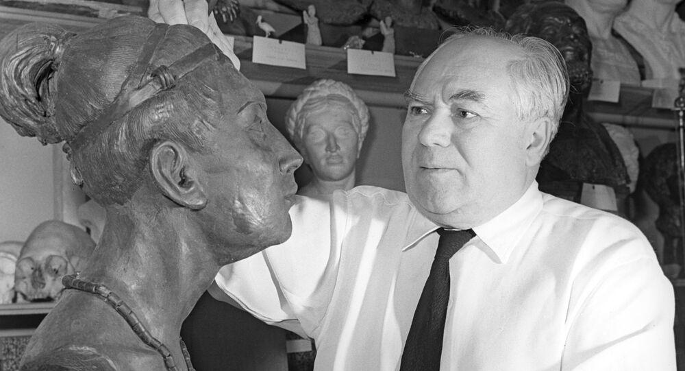 Anthropologue soviétique et docteur en histoire Mikhaïl Guerassimov