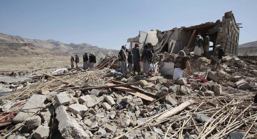 Destructions au Yémen