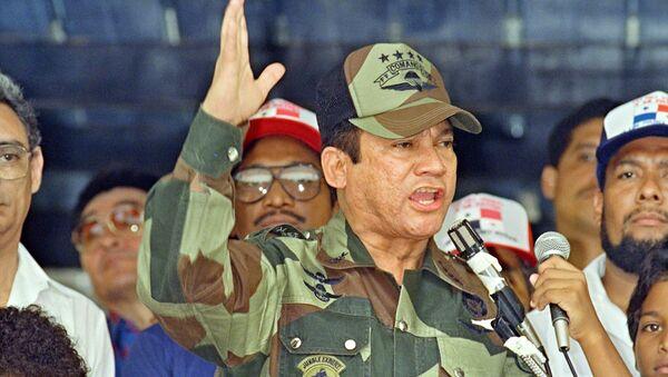 General Manuel Antonio Noriega, em 20 de maio de 1988, na Cidade do Panamá - Sputnik France