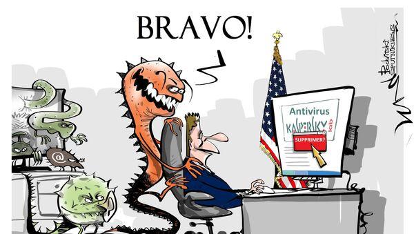 L'administration américaine «entraîne Kaspersky Lab dans une guerre géopolitique» - Sputnik France
