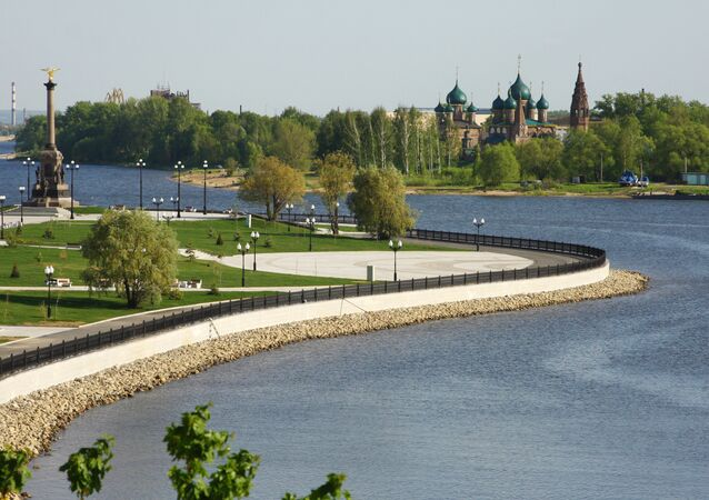 La ville d'Iaroslavl