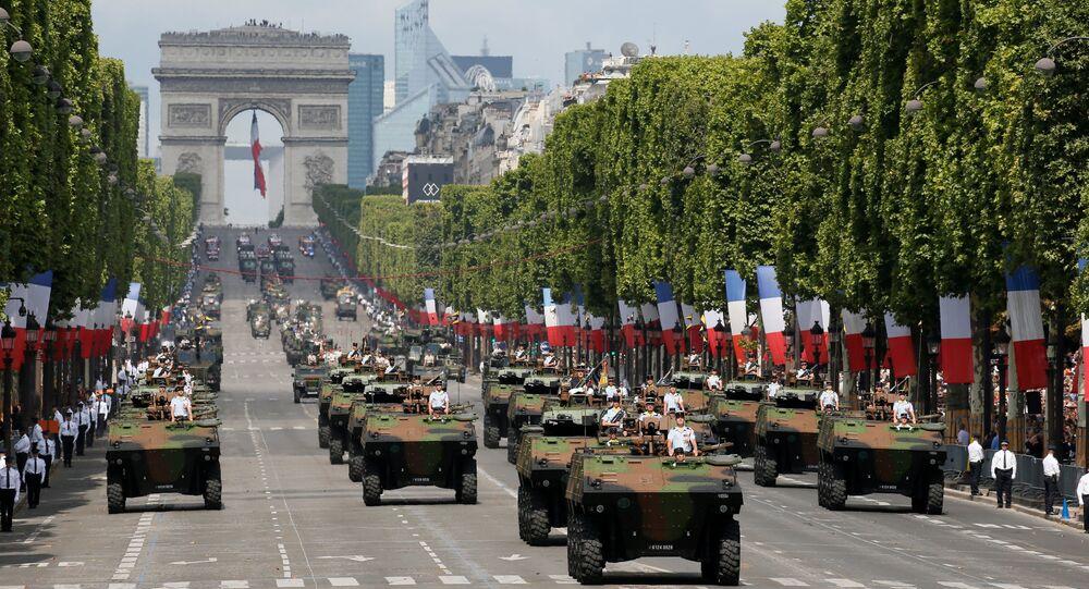 Défilé du 14 Juillet sur les Champs-Elysées