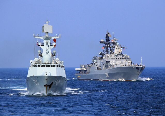 Russie-Chine: exercices navals conjoints
