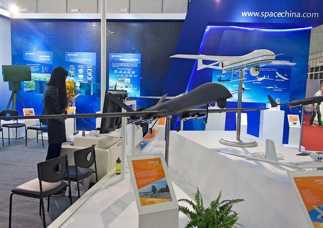 Un modèle du drone chinois CH-5