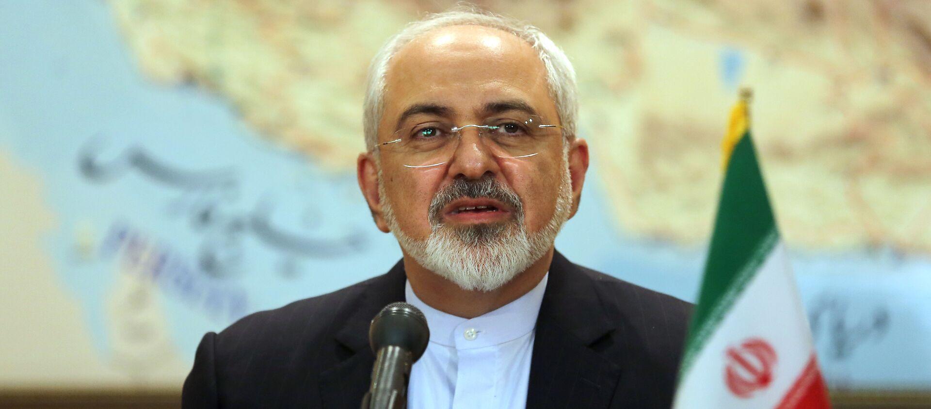 Le ministre iranien des affaires étrangères Mohammad Javad Zarif  - Sputnik France, 1920, 16.02.2021